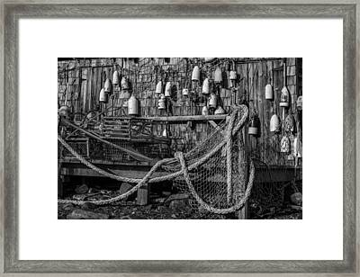 Oar House Framed Print by Joseph Smith