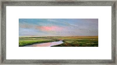 Oare Creek Spring 5 Framed Print by Paul Mitchell
