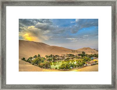 Oasis Framed Print by Dado Molina