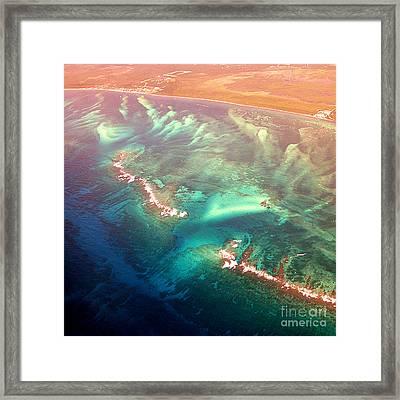Oasis Found Framed Print by Addie Hocynec