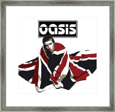 Oasis No.01 Framed Print by Caio Caldas