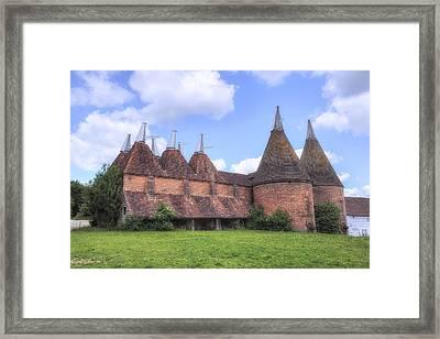Oast Houses - England Framed Print