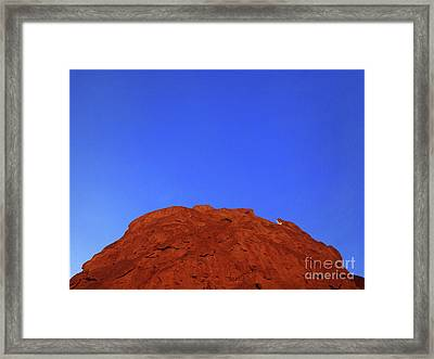 Oatmeal Cookie Framed Print by Inessa Burlak