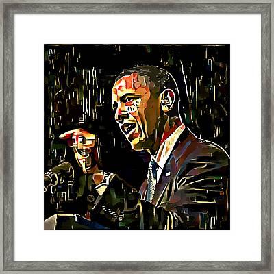 Obama 1 Framed Print