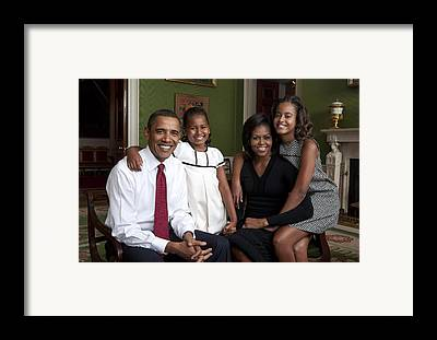 Michelle Obama Framed Prints