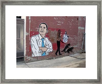 Obama Pride Framed Print by Sean Owens