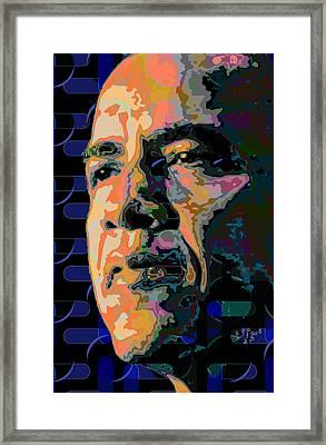 Obama Framed Print by Scott Davis