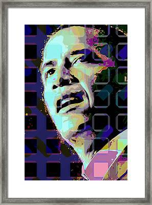 Obama2 Framed Print by Scott Davis