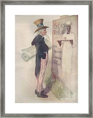 Obamacare Framed Print by Priscilla Wolfe