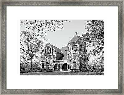Oberlin College Baldwin Cottage Framed Print by University Icons