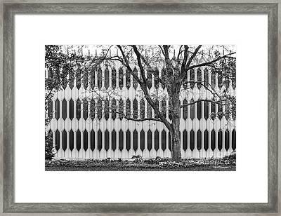 Oberlin College Bibbins Hall Framed Print by University Icons