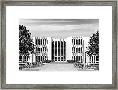Oberlin College King Building Framed Print by University Icons