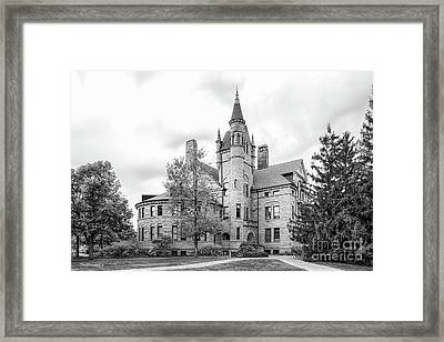 Oberlin College Peters Hall Framed Print by University Icons