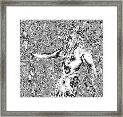 Oberon Horned One Framed Print by Oberon   Ahura Star