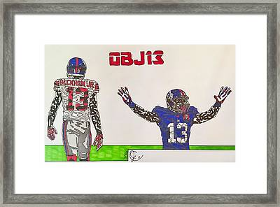 Obj13 Framed Print by Jeremiah Colley