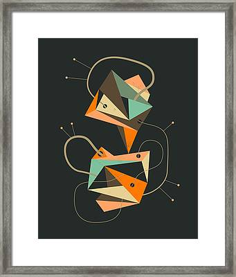 Objectified 19 Framed Print by Jazzberry Blue