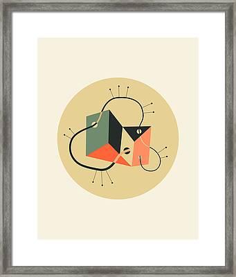 Objectified 20 Framed Print by Jazzberry Blue