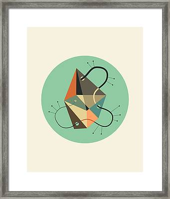 Objectified 23 Framed Print by Jazzberry Blue