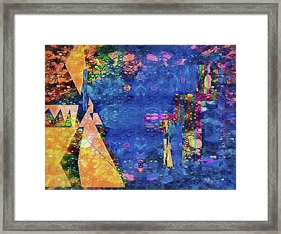 Objective Reality Framed Print