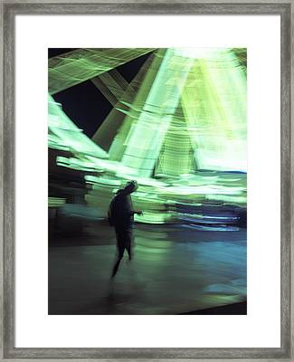 Framed Print featuring the photograph Oblivion by Alex Lapidus
