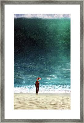 Oblivious Framed Print