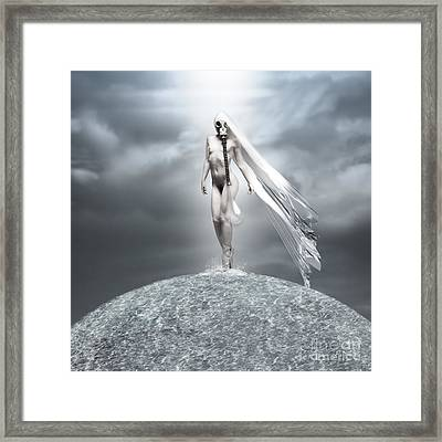 Oblivious Framed Print by Jacky Gerritsen