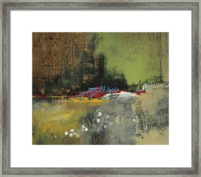 Obscure Horizon Framed Print by M Allison
