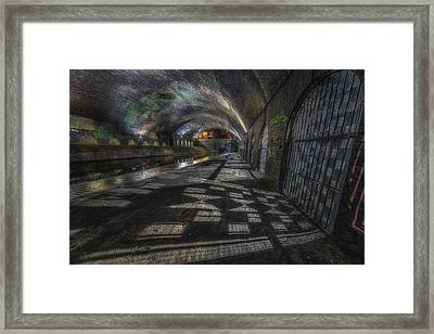 Obscure Shadows Framed Print