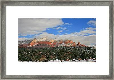 Obscured By Clouds Framed Print