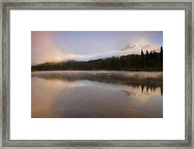 Obscured Dawn Framed Print by Mike  Dawson