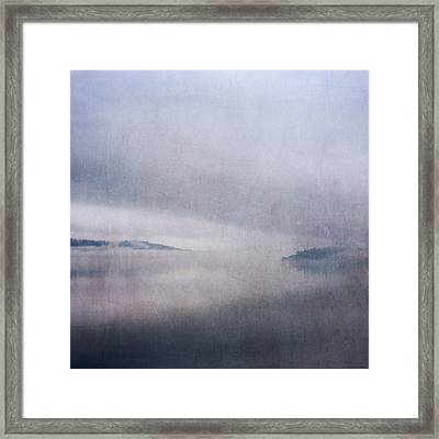 Framed Print featuring the photograph Obscurity by Sally Banfill