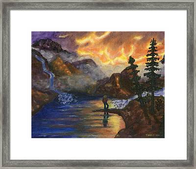 Observation Of Beauty Framed Print by Tanna Lee M Wells