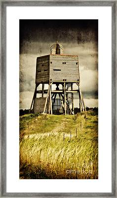Observation Tower Framed Print by Angela Doelling AD DESIGN Photo and PhotoArt