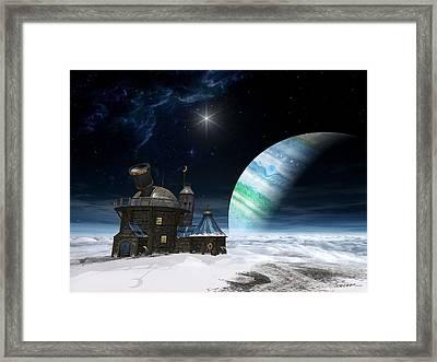 Observatory Framed Print by Cynthia Decker