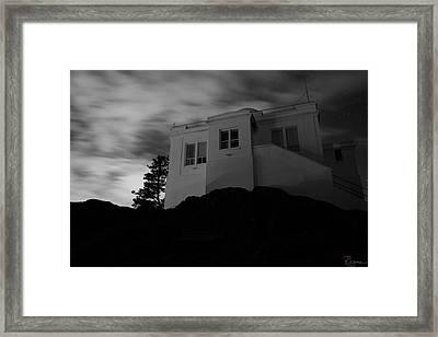 Observatory Dawn Framed Print