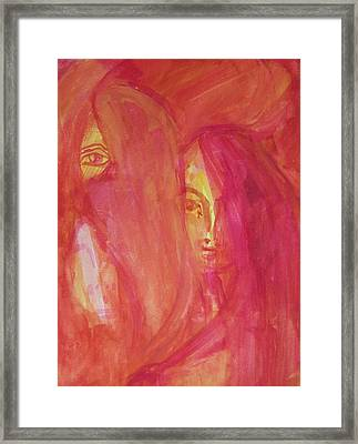 Observers Framed Print by Judith Redman