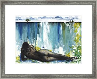 Obsessed Framed Print by Anthony Burks Sr