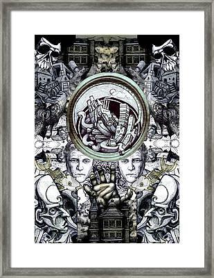 Obsessive Compulsion Framed Print by John Baker