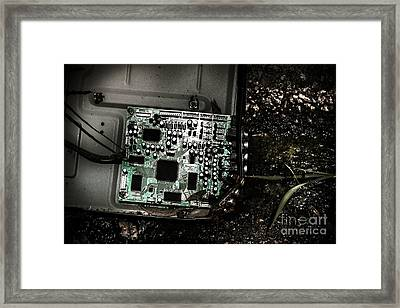 Obsolete Technology Framed Print by Jorgo Photography - Wall Art Gallery