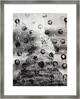 Obstacles Framed Print by Alys Caviness-Gober