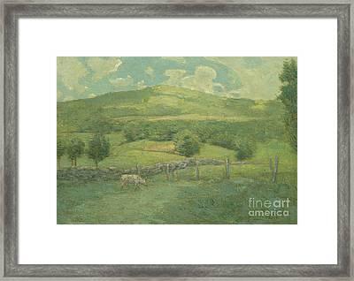 Obweebetuck, 1908  Framed Print