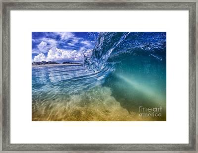 Obx Glass  Framed Print
