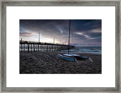 Obx Morning Framed Print