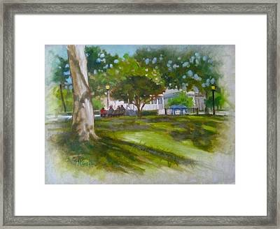Ocala Park Fl Framed Print