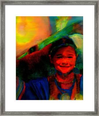 Ocankuye Waste Yelo..in A Good Way Framed Print