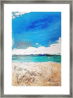 Ocean 6 Framed Print