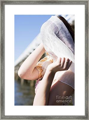 Ocean Abandonment Framed Print by Jorgo Photography - Wall Art Gallery