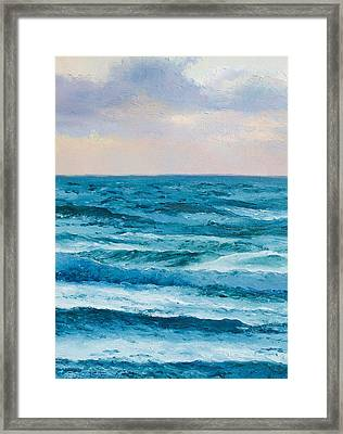 Ocean Art 2 Framed Print