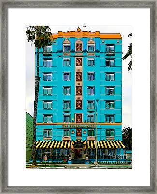 Ocean Avenue Framed Print