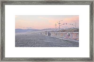 Ocean Beach Framed Print